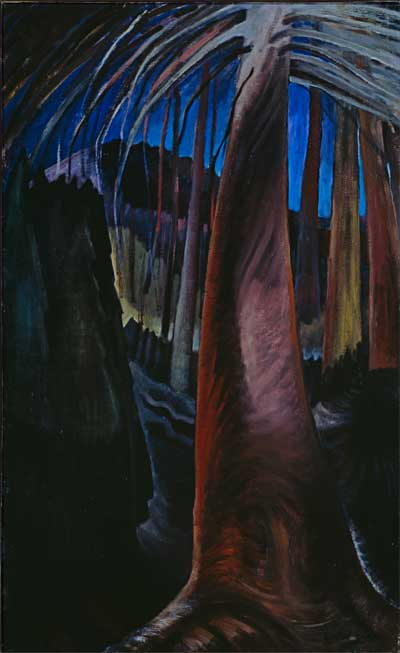 Emily Carr - Old Tree At Dusk