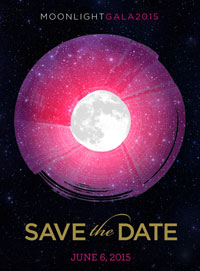 Moonlight Gala - Save the Date - June 6, 2015