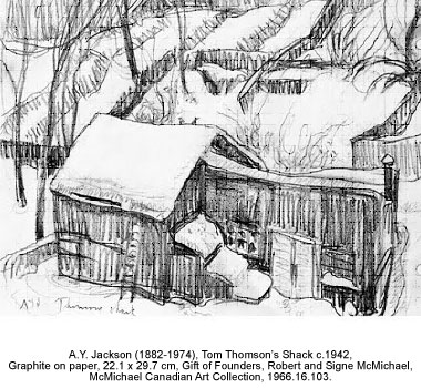 A.Y. Jackson Tom Thomson's Shack