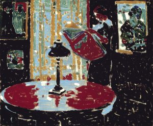 David Milne (1882- 1953), Black, 1914 oil on canvas, 51.9 x 62.1 cm, Gift of the Founders, Robert and Signe McMichael, McMichael Canadian Art Collection, 1966.16.23