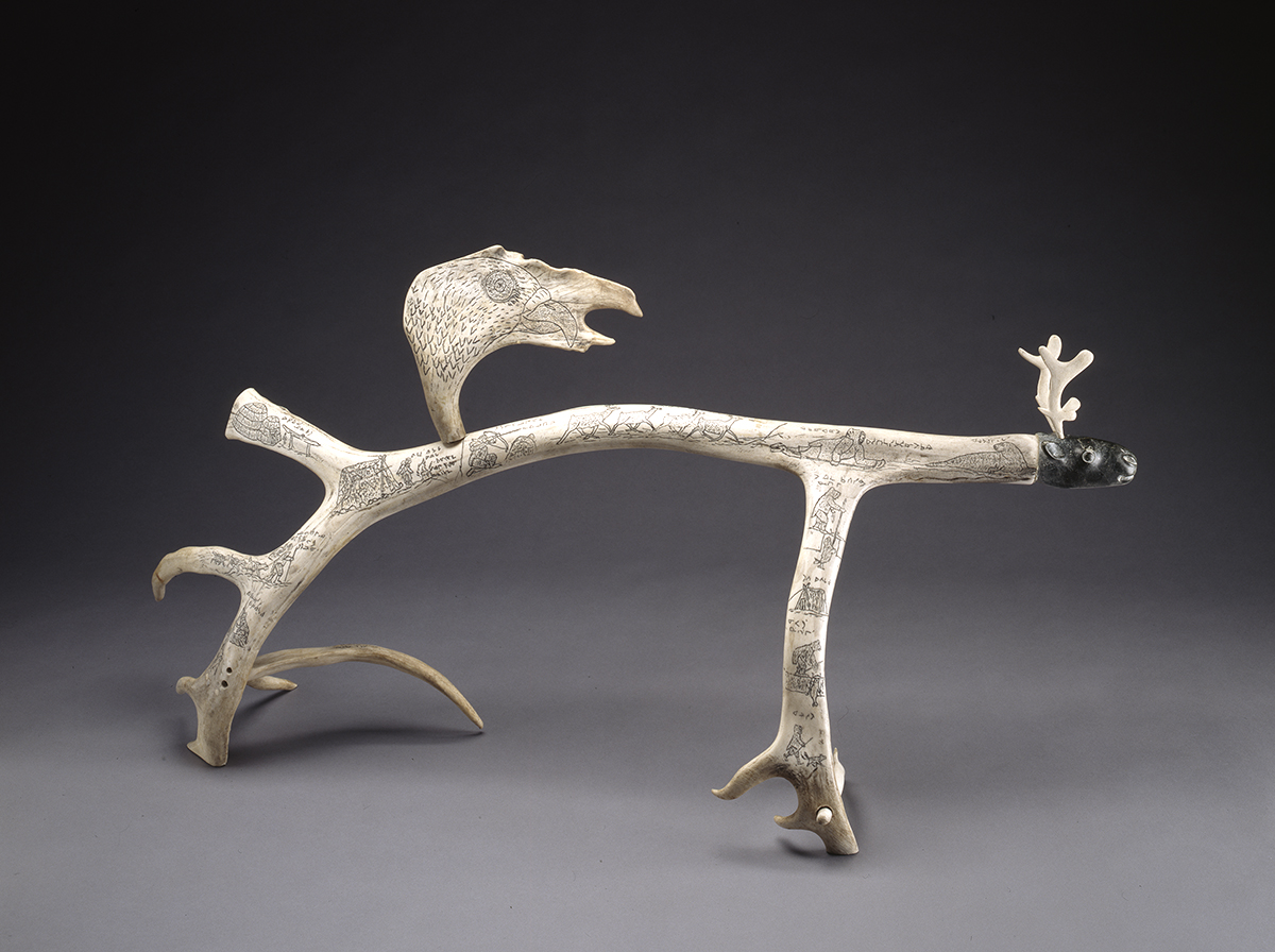Ivory Bone Antler And Horn Masterworks Of Inuit Sculpture Mcmichael Canadian Art Collection