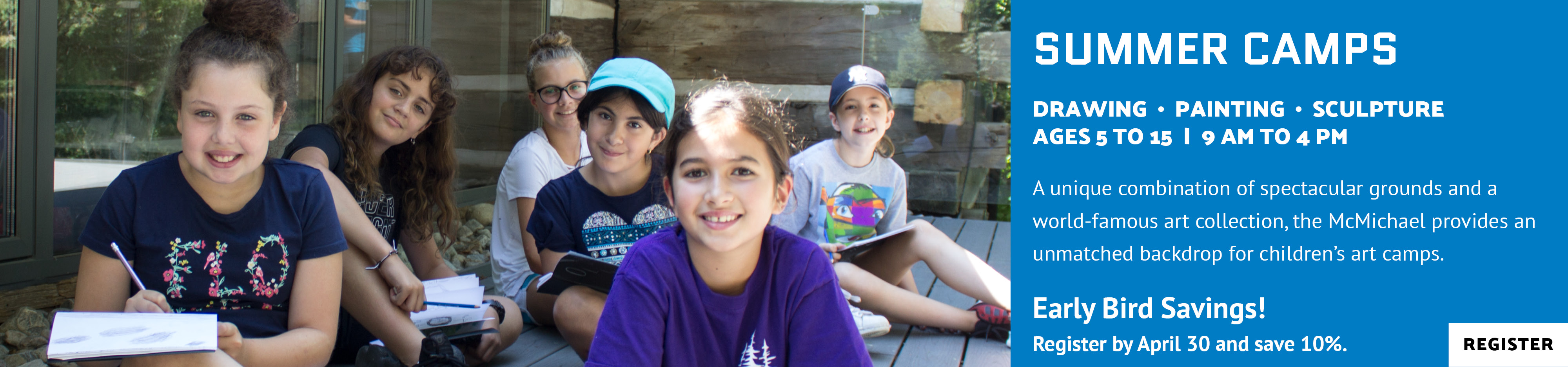 Summer Camps for Ages 5 to 15