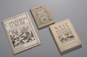 photograph of three books