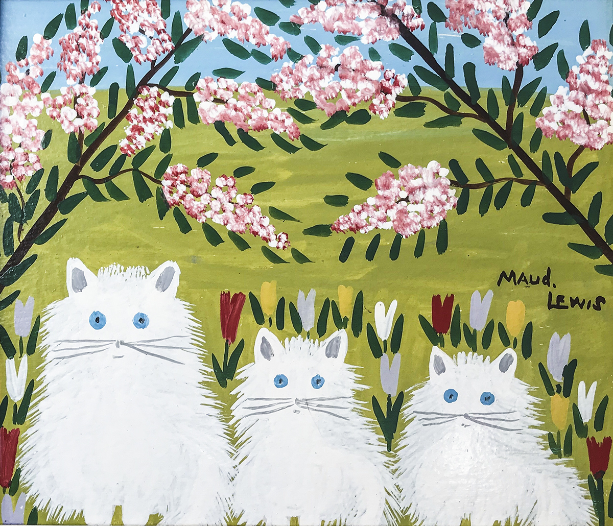 Maud Lewis: Folk art defined by balance design and colour and composition