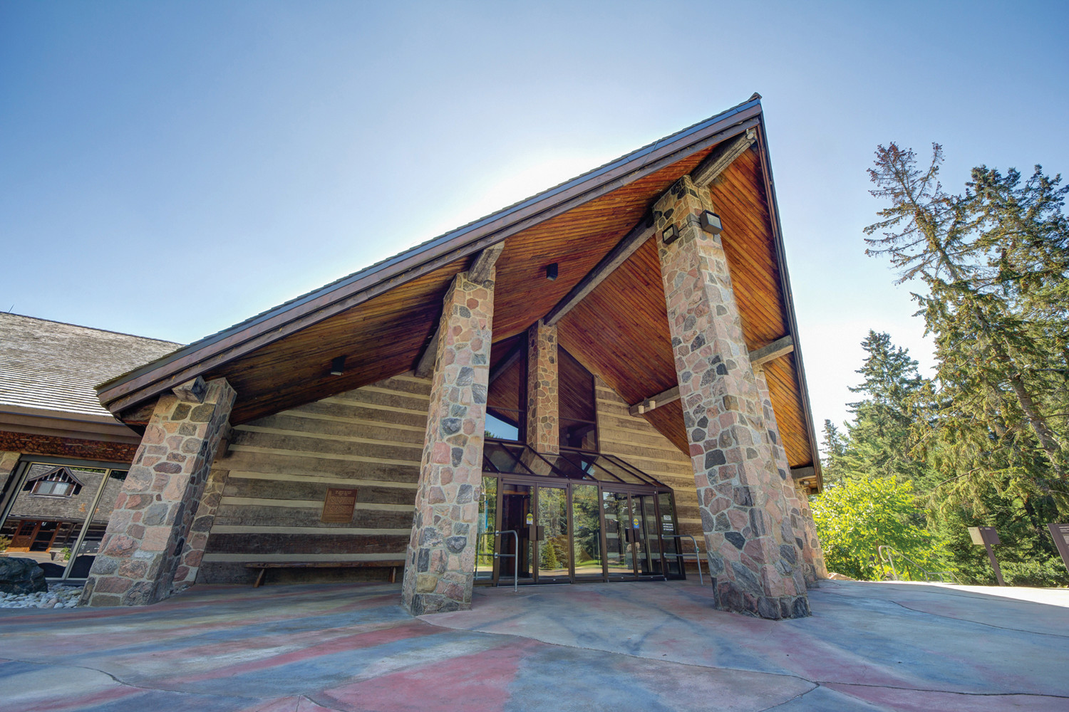 The McMichael Gallery Entrance